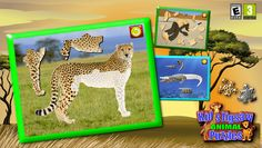 Complete jigsaw puzzles while learning about wild animals, farm animals and identifying the sounds they make.<p>From the award winning developer of Connect the Dots educational game series.<p>This educational and fun App helps young children learn animals and the sounds that each one makes while developing their hand eye coordination and puzzle solving skills. It's a unique early learning game with realistic sounds and photo quality pictures which toddlers, preschoolers, and kindergarten age…