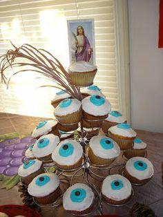 Catholic Cuisine: All Saints' Day Treats ~ St. Lucy Cupcakes