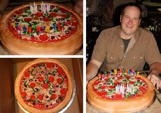 pizza birthday cake I NEED THIS AND I EXPECT THIS
