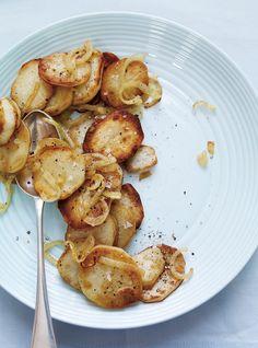 Pommes de terre à la lyonnaise Recettes   Ricardo