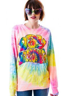 UNIF Daydreamer Sweatshirt http://www.dollskill.com/unif-daydreamer-sweatshirt.html