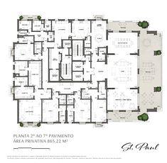 Floor Plans, How To Plan, Houses, Interior, Design, Dream Homes, Residential Architecture, Garden, Large Floor Plans