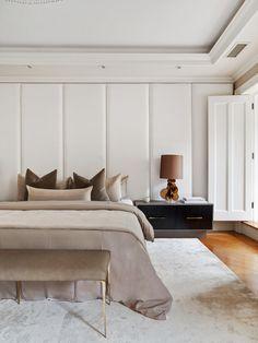 Home Interior Modern bedroom.Home Interior Modern bedroom Design Living Room, Master Bedroom Design, Home Decor Bedroom, Modern Bedroom, Living Room Decor, Contemporary Bedroom, Feminine Bedroom, Warm Bedroom, Bedroom Classic