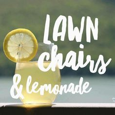 Successful Business Tips, Lawn Chairs, Lemonade, Party Themes, Garden Chairs, Deck Chairs