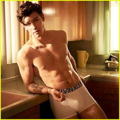 47768e308ec Shawn Mendes  Underwear Campaign for Calvin Klein is So Hot! Shawn Mendes  is looking hotter than ever for these new photos from his Calvin Klein  Underwear ...