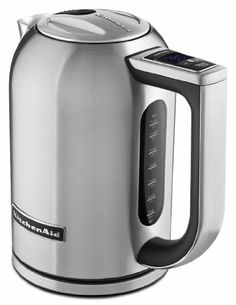 New Kitchenaid Stainless Steel Digital Display Electric Variable Temperature Water Kettle KEK1722SX Stainless Steel:Amazon:Kitchen & Dining