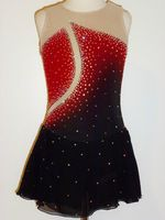Elite Skate Wear specializes in high quality and exceptionally made custom-made-to-fit figure ice skating dresses for skaters of all levels, from competition to recreational figure skaters. Ice Dance Dresses, Ice Skating Dresses, Figure Skating Outfits, Figure Skating Costumes, Gymnastics Outfits, Gymnastics Leotards, Eislauf Outfits, Salsa Dress, Women Figure