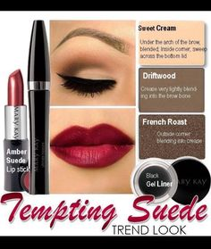 Tempting Suede - would you wear this?? Visit my website at www.marykay.com/michellefrith or email michellefrith@marykay.com