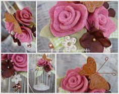 gaiola e rosas