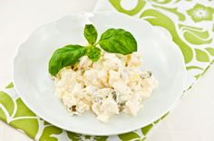 Perunasalaatti Finnish Recipes, Couscous, Potato Salad, Cauliflower, Salads, Vegetables, Ethnic Recipes, Food, Party