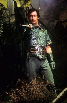 as Prince Barin in Flash Gordon 1980 Fantasy Movies, Sci Fi Movies, Movie Tv, Pulp Fiction, Science Fiction, Logan's Run, Timothy Dalton, Fantastic Voyage, Tv Show Games