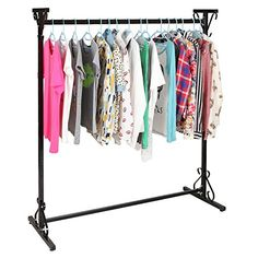 Buy Professional 4-Ft Long Victorian Scrollwork Vintage Black Iron Clothing Hanger / Garment Rack - MyGift® - Topvintagestyle.com ✓ FREE DELIVERY possible on eligible purchases