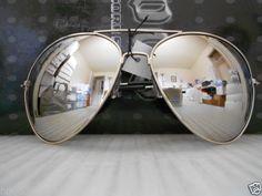 Oversized-Extra-Large-Aviator-Sunglasses-Silver-Frame-Mirror-Lenses-Mirrored-XXL