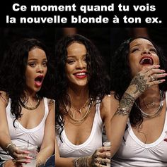 Image about funny in rihanna by samoura on We Heart It Bitch Quotes, Badass Quotes, Mood Quotes, Daria Quotes, Rihanna Meme, Rihanna Quotes, Funny Relatable Memes, Funny Quotes, Qoutes