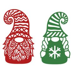 Silhouette Design Store: Two Gnomes Christmas Gnome, Christmas Projects, Holiday Crafts, Silhouette Cameo Projects, Silhouette Design, Christmas Tumblers, Christmas Stencils, Cricut Creations, Cricut Design