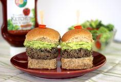 Black Bean and Mushroom Sliders via @cookinglight #meatlessmonday #vegetarian