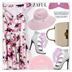 """Zaful"" by teoecar ❤ liked on Polyvore featuring STELLA McCARTNEY, Maison Michel and zaful"
