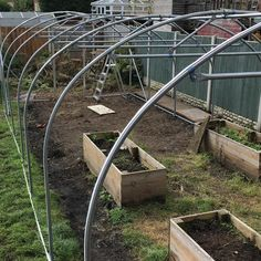 Everything tightened. Ridge straighter. Anti hot spot tape on. Polythene cover unpacked. Lunch then pressing on! #polytunnel Everything, Tape, Lunch, Cover, Hot, Plants, How To Make, Instagram, Duck Tape