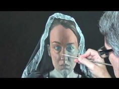 "▶ oil painting...glazing ""michele"" - YouTube"