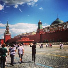 Red Square, Moscow, Russia. In College I was here, strolling along, living a dream.  I treasure the memory of who i was then, the naive girl, full of what could be, it seems forever ago