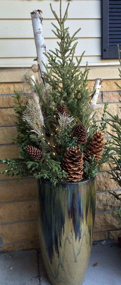 . Preparing Your Garden for Winter #Garden_for_Winter : Jeffery Pine Cones make amazing outdoor Decorations: houseofcones.com/…