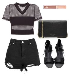 """Untitled #1364"" by notifized ❤ liked on Polyvore featuring Marc Jacobs and Dolce Vita"