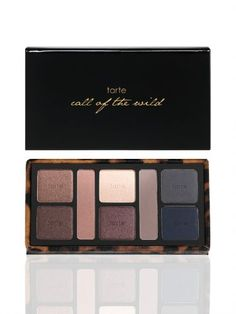 I'm a convert to the natural power tarte gives.  call of the wild Amazonian clay 8-shadow collector's palette -