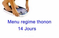menu regime thonon Lose Weight Quick