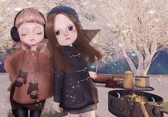 ::{u.f.o}::chacha doll for december arcade | Flickr - Photo Sharing!
