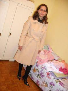 FEMINA - Modéstia e elegância (por Aline Rocha Taddei Brodbeck): Dois looks meus com legging de couro - modestos!