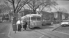 DC Transit PCC on route 40 at Mt. Pleasant Loop. Destination Lincoln Park.