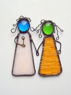 FREE SHIPPING EVERYWHERE  Stained glass suncatcher  by SaintGlass, $17.00