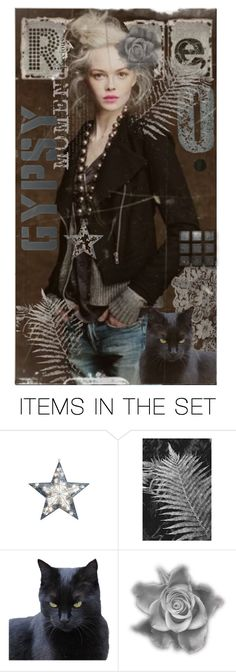 """""""A Gypsy Moment"""" by tattered-rose ❤ liked on Polyvore featuring art"""