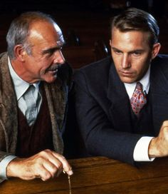 Sean Connery & Kevin Costner in The Untouchables