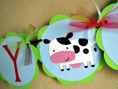 Barnyard Party  Down On The Farm  Happy Birthday by ScrapYourStory, $29.95