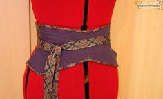 Fajin con dos corbatas recicladas http://www.imujer.com/hogar/6407/fajin-con-dos-corbatas-recicladas