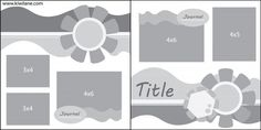 Sketching Spring Scrapbooking layout sketch - Join us for another Fun Scrapbooking Sketch Challenge. This week Kiwi Lane features a Spring layout to inspire you. Scrapbook Patterns, Scrapbook Layout Sketches, Scrapbook Templates, Card Sketches, Scrapbooking Layouts, Scrapbook Pages, Kiwi Lane Designs, Sketch 4, Photo Sketch