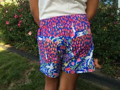 Honeybuns shorts for girls. I made these for my daughter and she 💜 them
