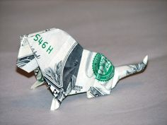 LION Money Origami