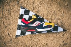 Play Cloths x Saucony Grid 9000 'Motocross'