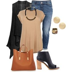 plus size fall chic by xtrak on Polyvore featuring polyvore, fashion, style, Isolde Roth, H