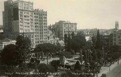 Porto Alegre antigamente: Praça da Alfândega.