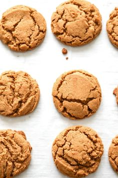 Low Carb Recipes To The Prism Weight Reduction Program Gingersnap Cookies - A Dash Of Sanity Chocolate Marshmallow Cookies, Chocolate Chip Shortbread Cookies, Toffee Cookies, Spice Cookies, Yummy Cookies, Cake Cookies, Cookie Flavors, Chip Cookie Recipe, Easy Cookie Recipes