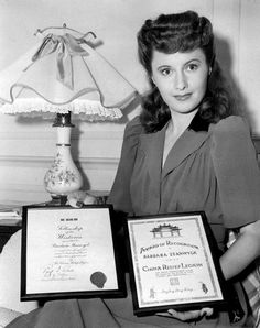 All things Stanwyck. Old Hollywood Actresses, Old Hollywood Stars, Hooray For Hollywood, Classic Actresses, Golden Age Of Hollywood, Classic Films, Classic Hollywood, Actors & Actresses, Hollywood Homes