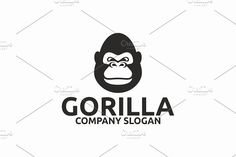 Gorilla Templates AI, EPS and PSD files (Illustrator 10 EPS ) Scalable Vector FilesEasy to edit c by Brandlogo Business Brochure, Business Card Logo, Pittsburg State, Skateboard Logo, Wonder Woman Logo, Company Slogans, Script Type, Creative Sketches, Paint Markers