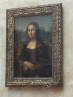 Does this really need a caption?  Mona Lisa The Louvre October 2016