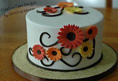 Fall Cake by Creative Cake Designs. This cake is gorgeous Beautiful Cakes, Amazing Cakes, Cake Pops, Thanksgiving Cakes, Cake Wrecks, Fall Cakes, Holiday Cakes, Halloween Cakes, Cake Tutorial