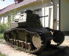 T-18 Model 1928? Light Tank / Military-historical Museum Lenino- Snegiri