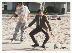 Mr. Bean Trading Cards # 48 Watch Out Dudes - Dart 1998