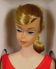 The one and only Barbie I recieved. I suppose she was to keep my sisters Barbie company.